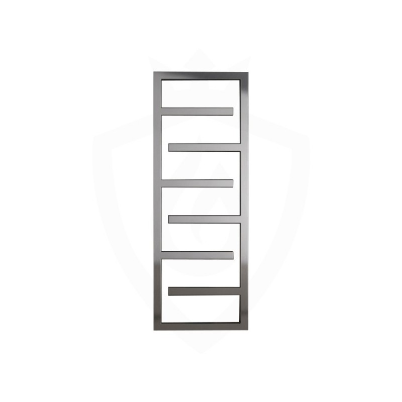 Carisa Eclipse Polished Stainless Steel Designer Towel Rail - 500 x 1370mm