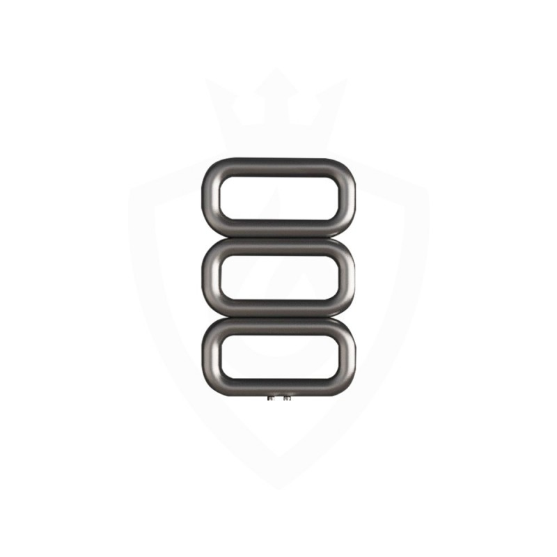 Carisa Talent Brushed Stainless Steel Designer Towel Rail - 500 x 780mm