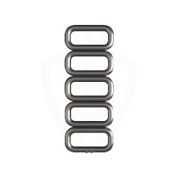 Carisa Talent Brushed Stainless Steel Designer Towel Rail - 500 x 1300mm