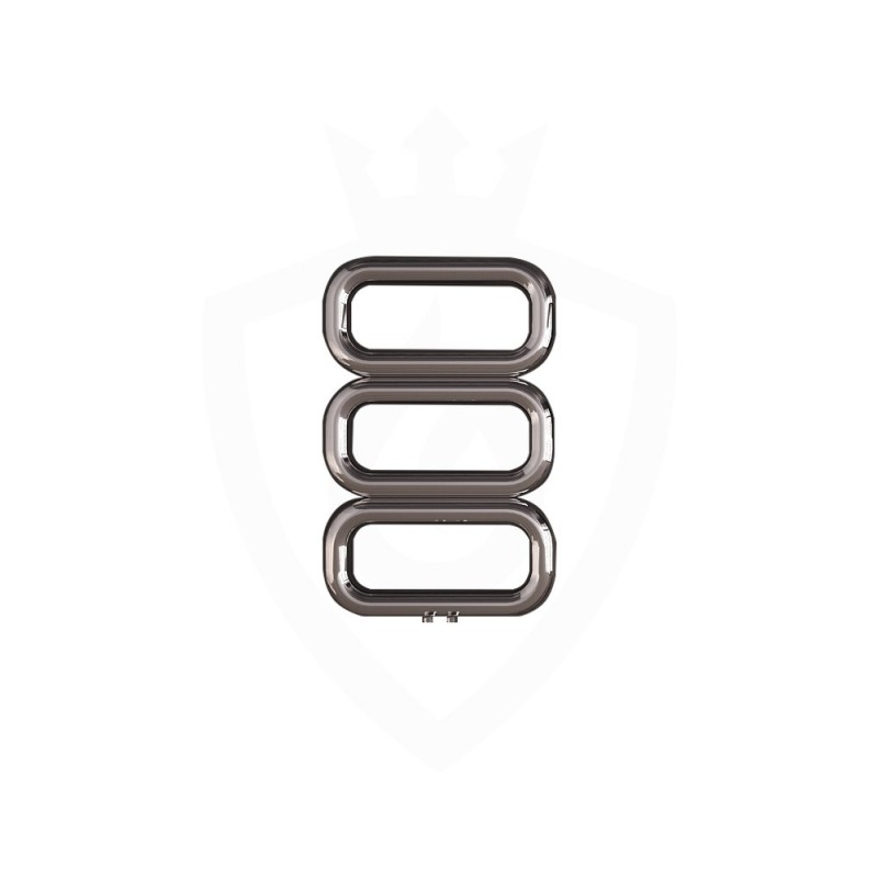 Carisa Talent Polished Stainless Steel Designer Towel Rail - 500 x 780mm