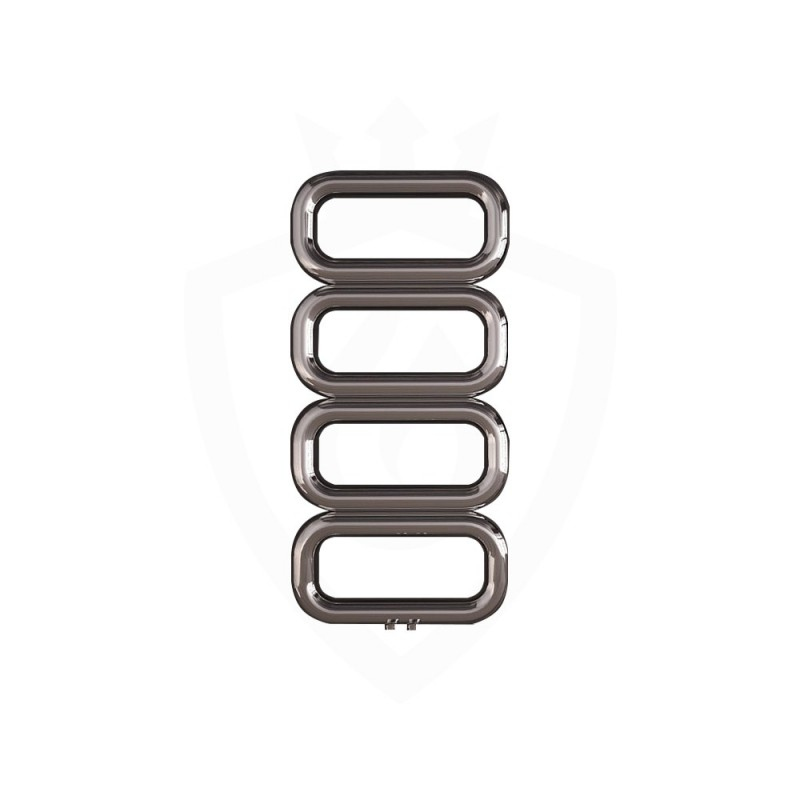 Carisa Talent Polished Stainless Steel Designer Towel Rail - 500 x 1040mm