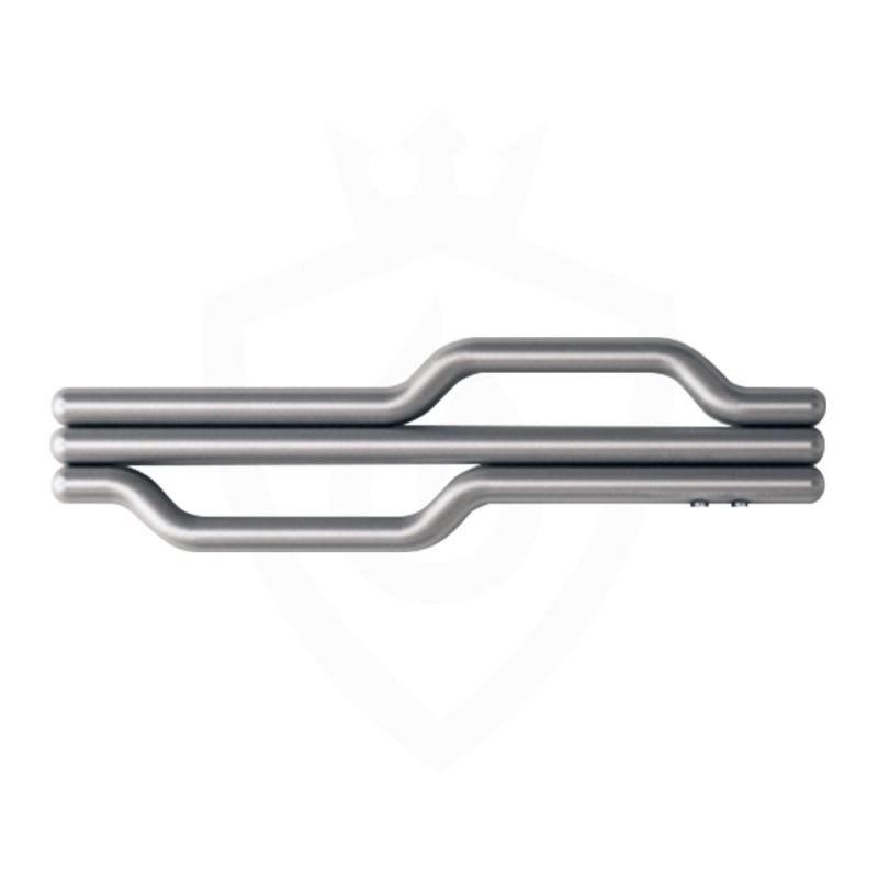Carisa Lepus Brushed Stainless Steel Designer Towel Rail - 1200 x 335mm