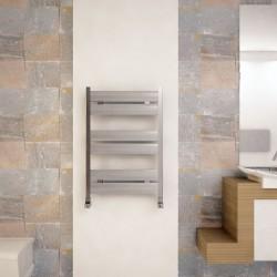 Carisa Soho Polished Aluminium Designer Towel Rail - 500 x 715mm - Installed