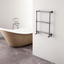 Carisa Vintage Traditional Towel Rail - 650 x 650mm