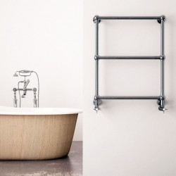 Carisa Vintage Traditional Towel Rail - 650 x 650mm - Installed