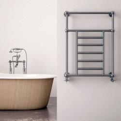Carisa Vintage Traditional Towel Rail - 650 x 800mm - Installed