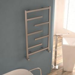 Carisa Eclypsia Polished Aluminium Designer Towel Rail - 500 x 810mm