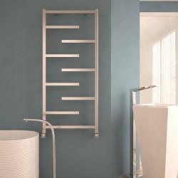 Carisa Eclypsia Polished Aluminium Designer Towel Rail - 500 x 1110mm