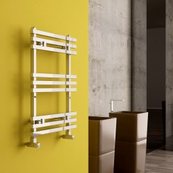 Carisa Baron Polished Aluminium Designer Towel Rail - 500 x 720mm