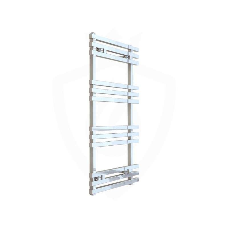 Carisa Baron Polished Aluminium Designer Towel Rail - 500 x 1000mm