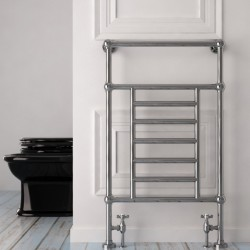 Carisa Edward Chrome Traditional Towel Rail - 500 x 1000mm