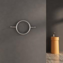 Carisa Roni Brushed Stainless Steel Designer Towel Rail - 640 x 400mm
