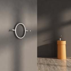 Carisa Roni Brushed Stainless Steel Designer Towel Rail - 640 x 400mm - Installed