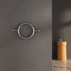 Carisa Roni Polished Stainless Steel Designer Towel Rail - 640 x 400mm