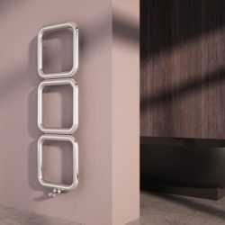 Carisa Baro Polished Stainless Designer Towel Rail - 500 x 1500mm