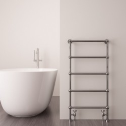 Carisa Victoria Traditional Towel Rail - 500 x 950mm - Installed