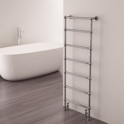Carisa Victoria Traditional Towel Rail - 500 x 1340mm - Installed