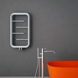 Carisa Aren Polished Stainless Steel Designer Towel Rail - 500 x 900mm