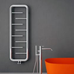 Carisa Aren Polished Stainless Steel Designer Towel Rail - 500 x 1500mm