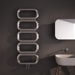 Carisa Talent Polished Stainless Steel Designer Towel Rail - 500 x 1300mm