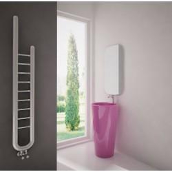 Carisa Jazz Brushed Stainless Steel Designer Towel Rail - 240 x 1500mm