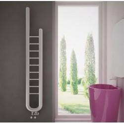 Carisa Jazz Brushed Stainless Steel Designer Towel Rail - 240 x 1500mm - Installed