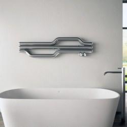 Carisa Lepus Polished Stainless Steel Designer Towel Rail - 1200 x 335mm