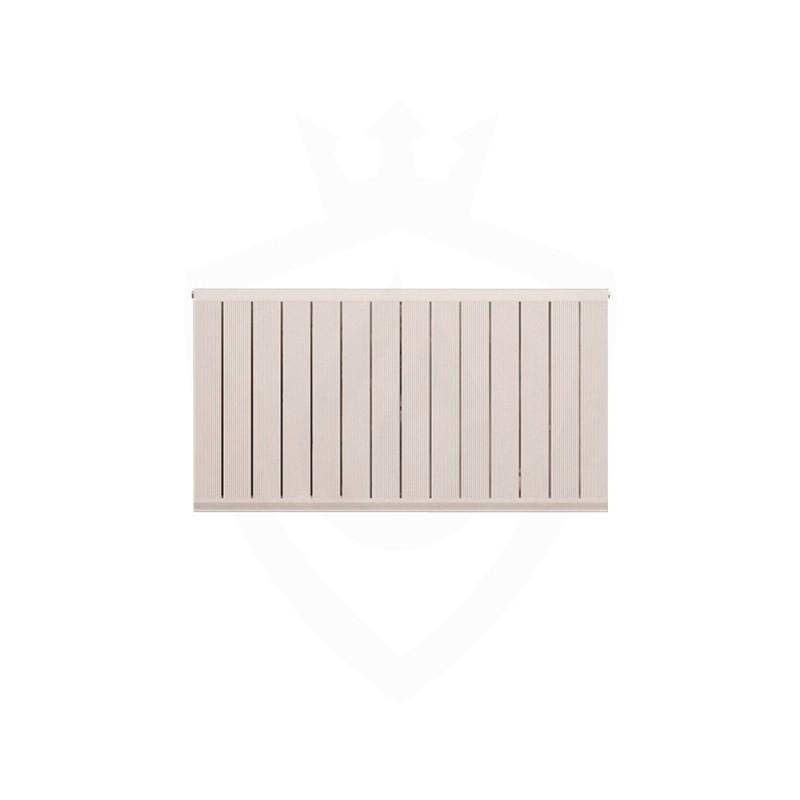 Carisa Elite White Aluminium Radiator - 1045 x 600mm