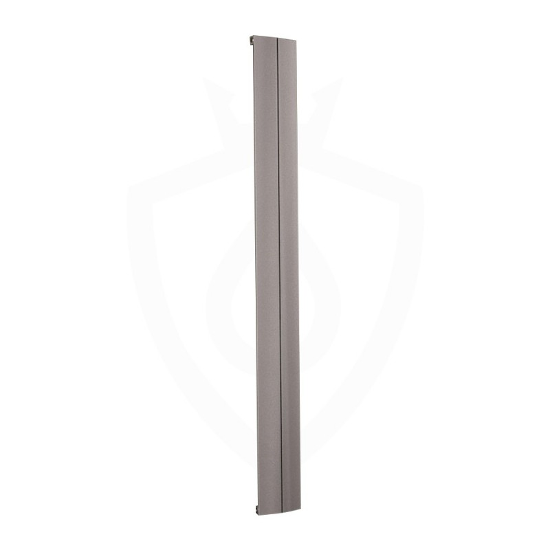 Carisa Play Matt Anodised Aluminium Radiator - 185 x 1800mm