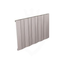 Carisa Play Matt Anodised Aluminium Radiator - 945 x 600mm