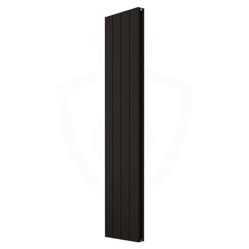 Carisa Nemo Double Black Aluminium Radiator - 375 x 1800mm