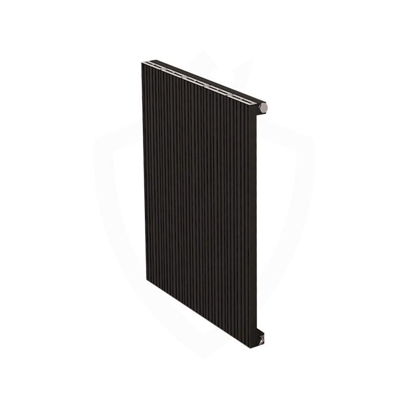 Carisa Monza Black Aluminium Radiator - 470 x 600mm