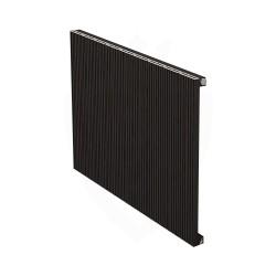 Carisa Monza Black Aluminium Radiator - 850 x 600mm
