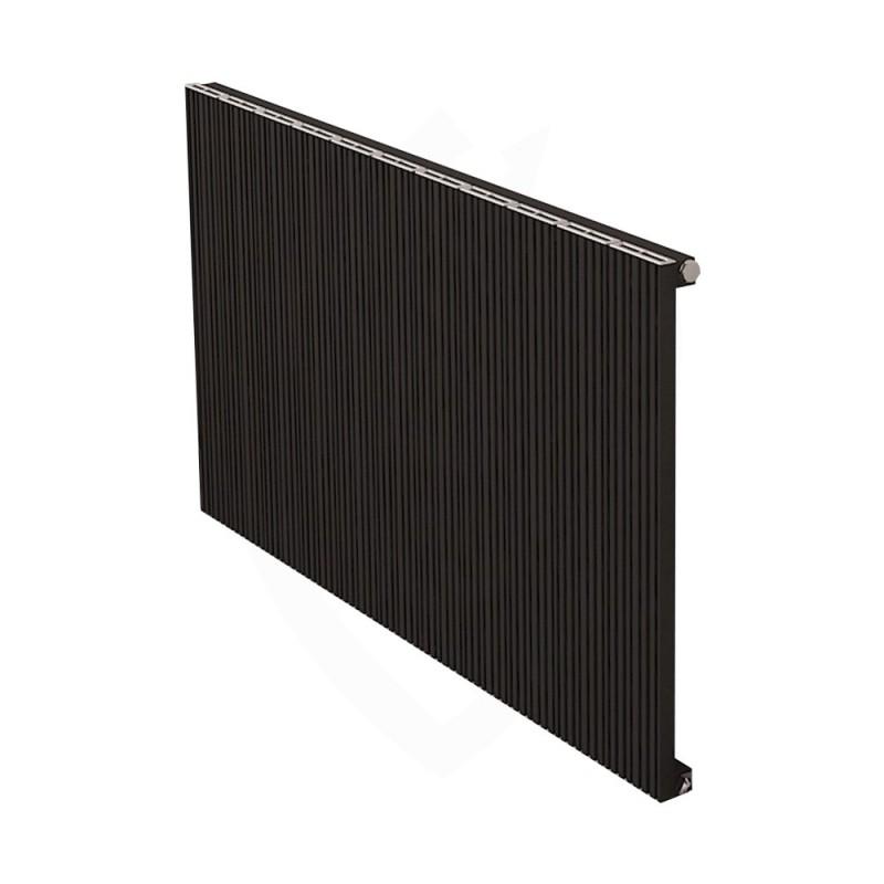 Carisa Monza Black Aluminium Radiator - 1040 x 600mm