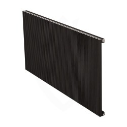 Carisa Monza Black Aluminium Radiator - 1230 x 600mm