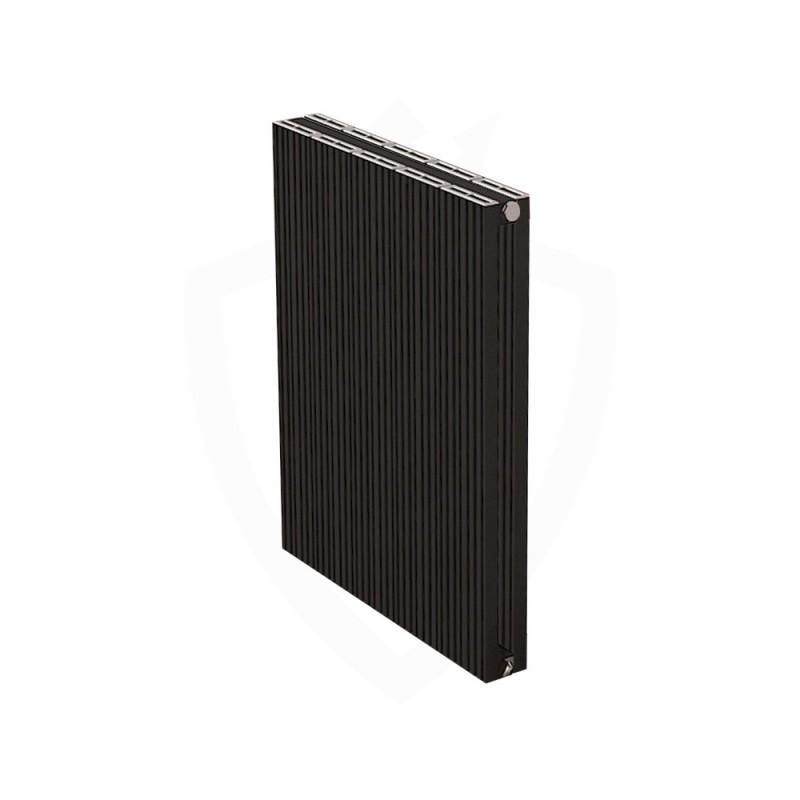 Carisa Monza Double Black Aluminium Radiator - 470 x 600mm
