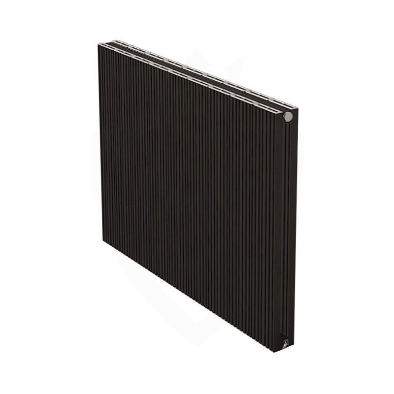 Carisa Monza Double Black Aluminium Radiator - 850 x 600mm