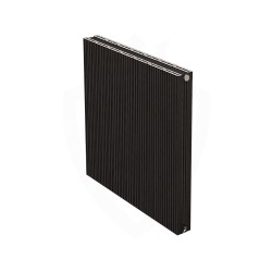 Carisa Monza Double Black Aluminium Radiator - 660 x 600mm