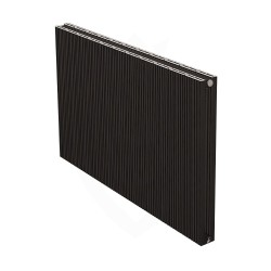 Carisa Monza Double Black Aluminium Radiator - 1040 x 600mm