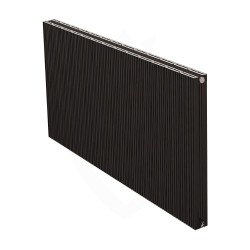 Carisa Monza Double Black Aluminium Radiator - 1230 x 600mm