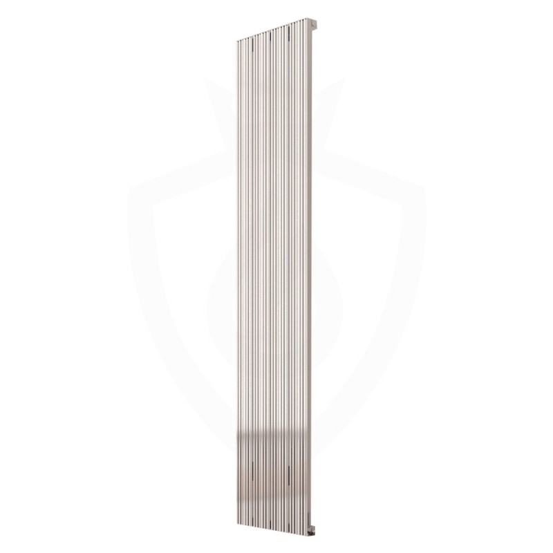 Carisa Monza Polished Aluminium Radiator - 375 x 1800mm