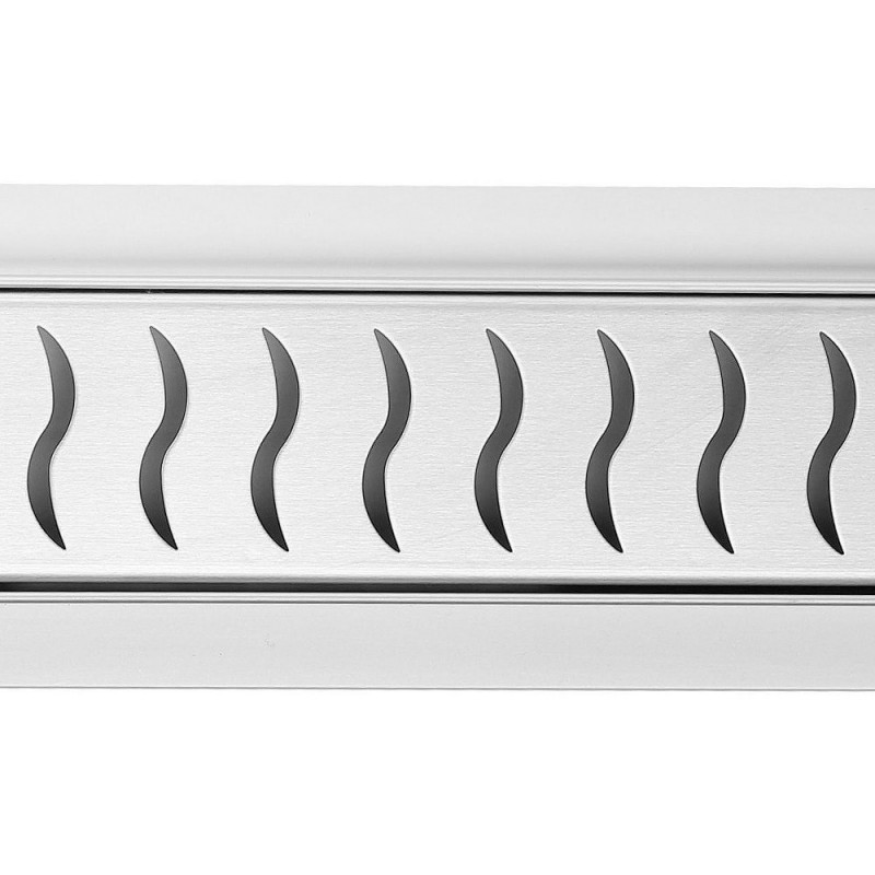 Rectangular Stainless Steel Wet Room Drains - Heatwave Design