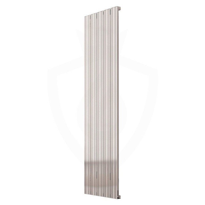 Carisa Monza Polished Aluminium Radiator - 470 x 1800mm