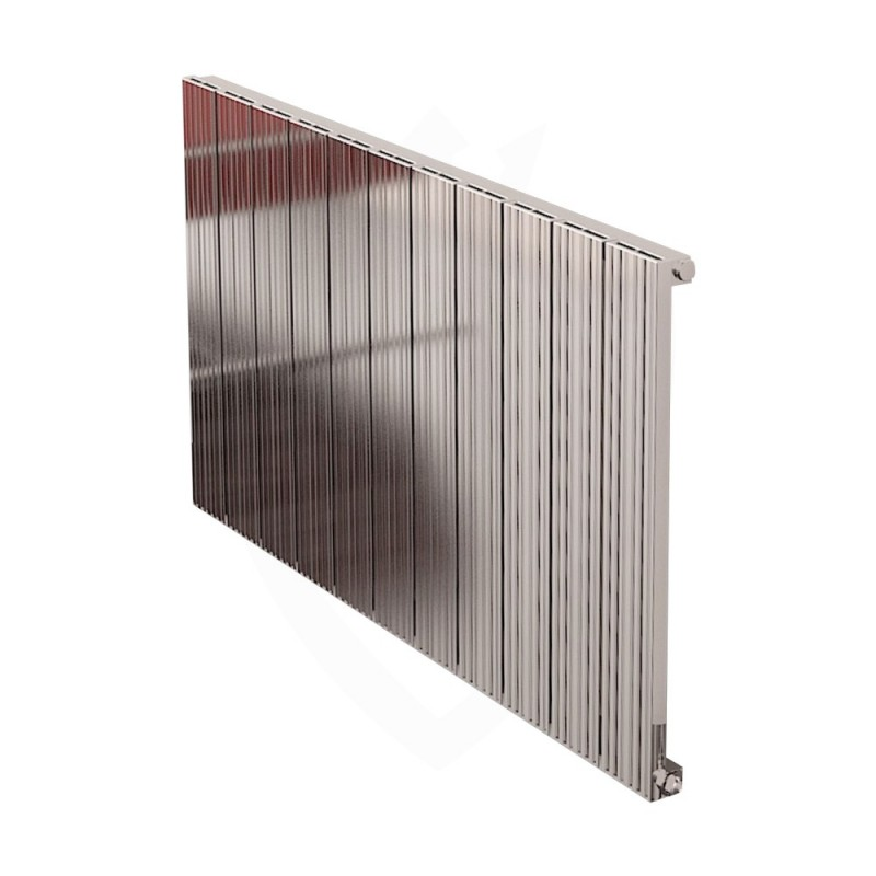 Carisa Monza Polished Aluminium Radiator - 1040 x 600mm