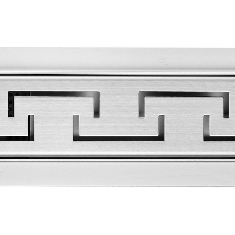 Rectangular Stainless Steel Wetroom Drains - Aztec Design