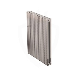 Carisa Monza Double Polished Aluminium Radiator - 470 x 600mm