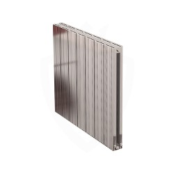 Carisa Monza Double Polished Aluminium Radiator - 660 x 600mm