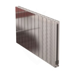 Carisa Monza Double Polished Aluminium Radiator - 1040 x 600mm