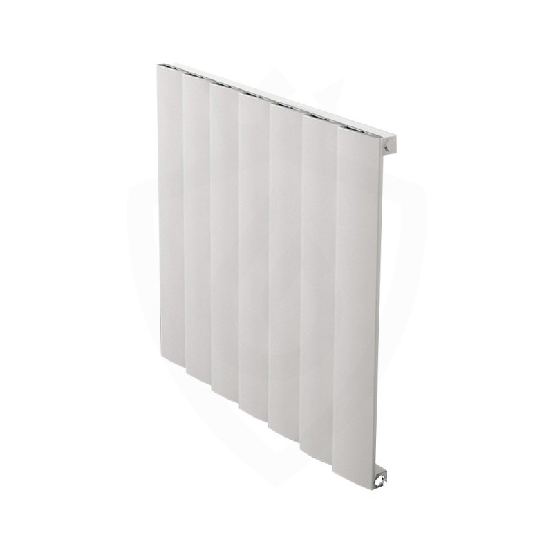 Carisa Step White Aluminium Radiator - 660 x 600mm