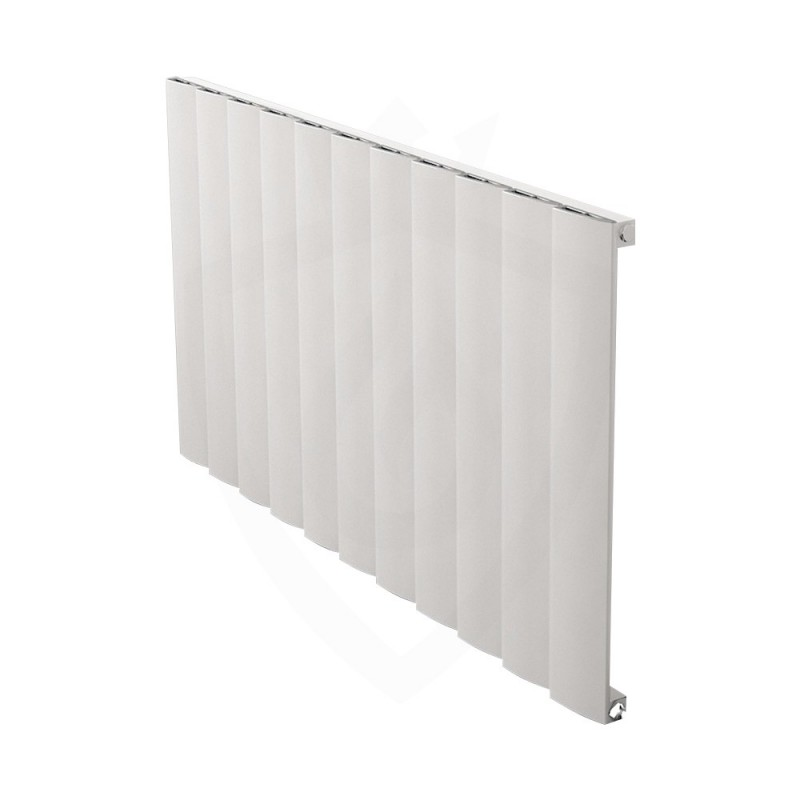 Carisa Step White Aluminium Radiator - 1040 x 600mm